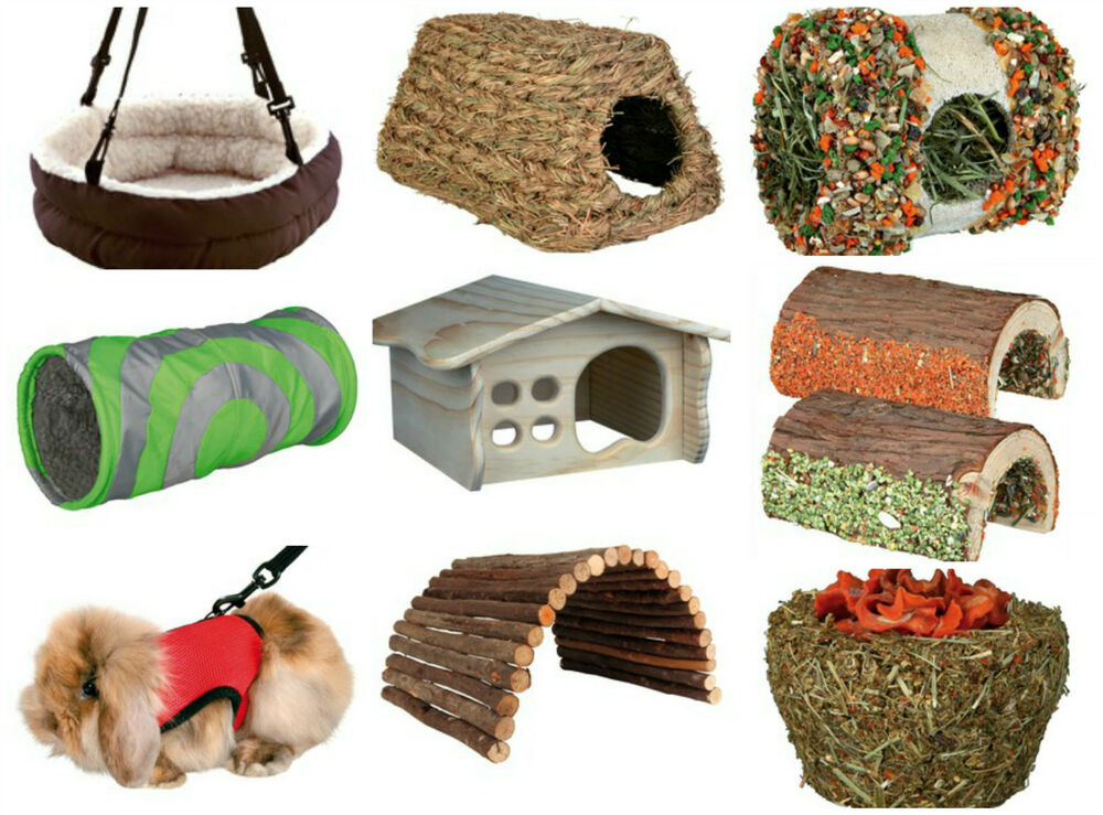 Guinea Pig Toys : Trixie guinea pig treats toy toys play tunnels tent dental