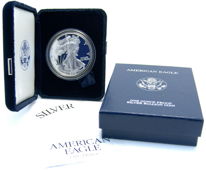 American Eagle 1 Dollar 2002 Walking Liberty One Ounce