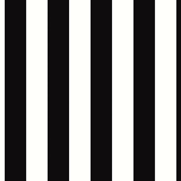 Black and white striped wallpaper wide ebay - Black and white striped wall ...