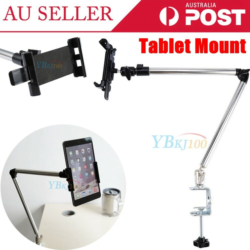 Universal Adjustable Swing Arm Tablet Holder Table Mount