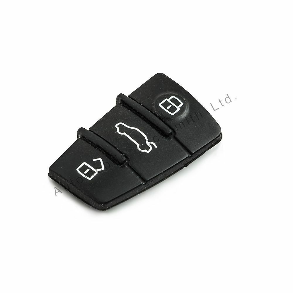 Audi A4 Key Battery: For Audi Remote Flip Key Fob 3 Button Rubber Pad