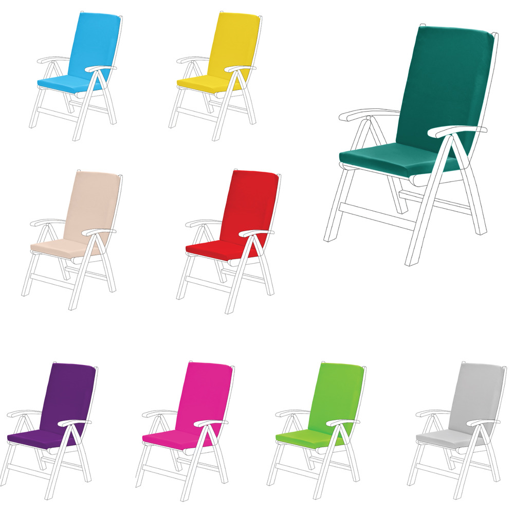 Highback Garden Dining Chair Cushion Pad Outdoor Furniture  : s l1000 from www.ebay.co.uk size 512 x 512 jpeg 35kB