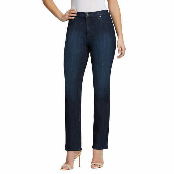 Gloria Vanderbilt Ladies' Amanda Denim Jeans – DARK BLUE PORTLAND (Select Size)