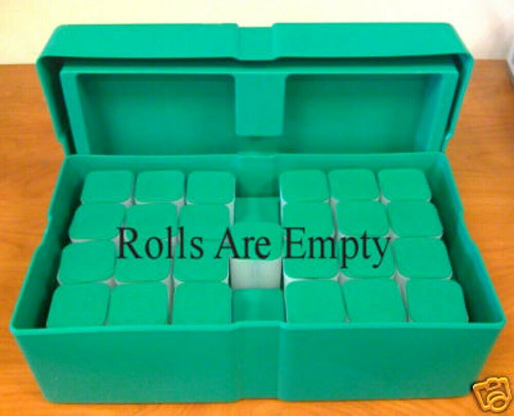 Empty Green Monster Box For Silver Eagle Coins Or Rolls Ebay