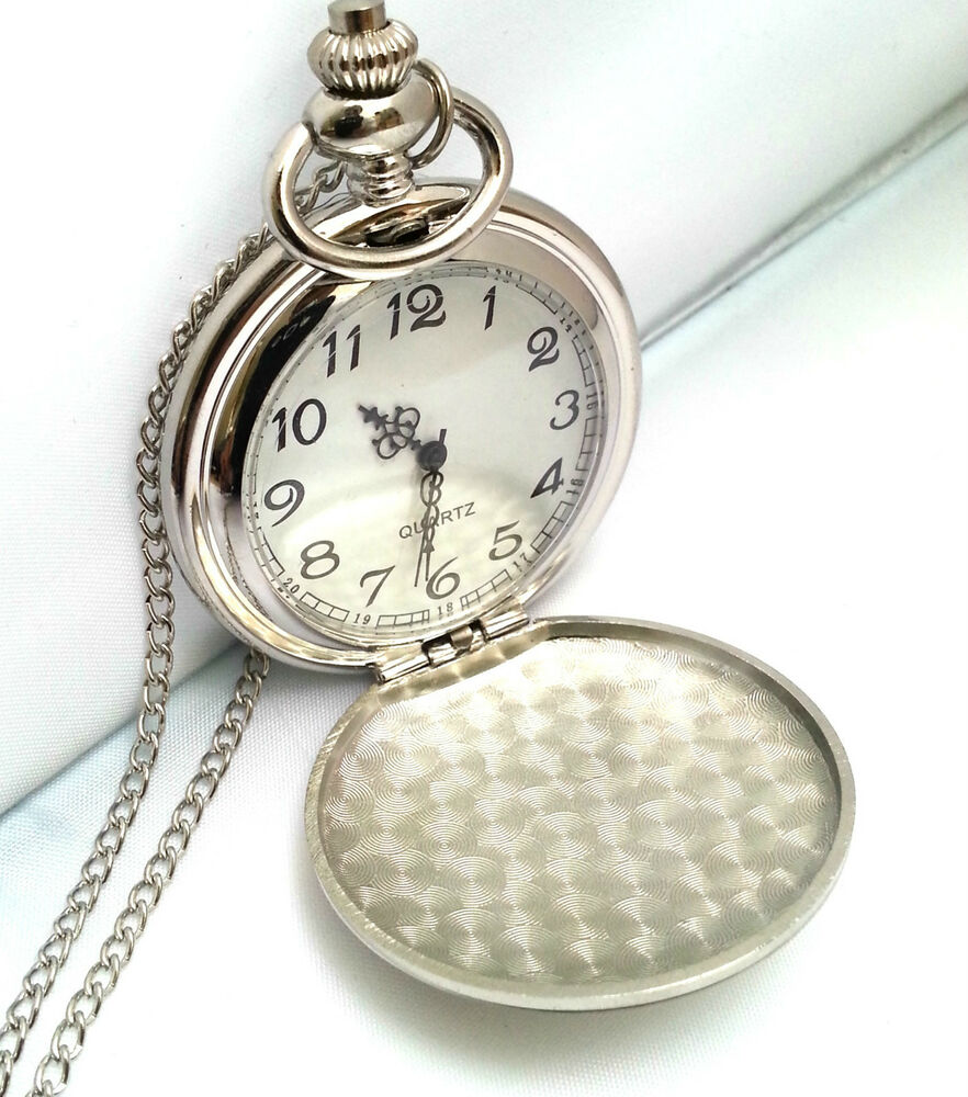 Personalised engraved pocket watch graduation promotion pass driving test gift ebay for Watches engraved