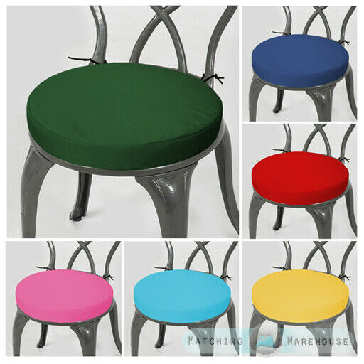 Round Garden Chair Cushion Pad Only Waterproof Outdoor