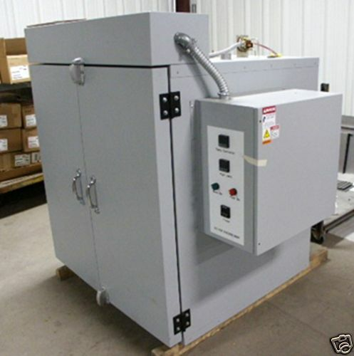 Powder Coating Oven ~ New industrial oven for powder coating batch curing f