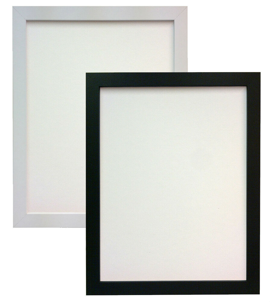White Or Black 25x15mm H7 Picture Photo Frame In MDF In ...