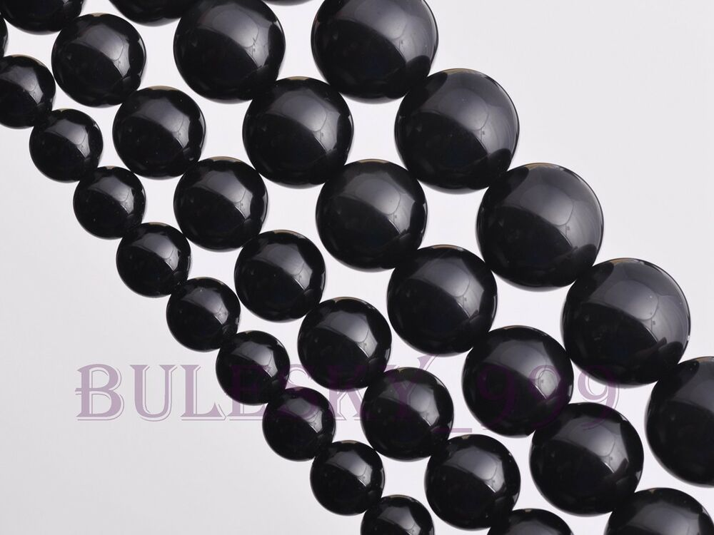 4 12mm natural shiny round loose gemstone spacer beads