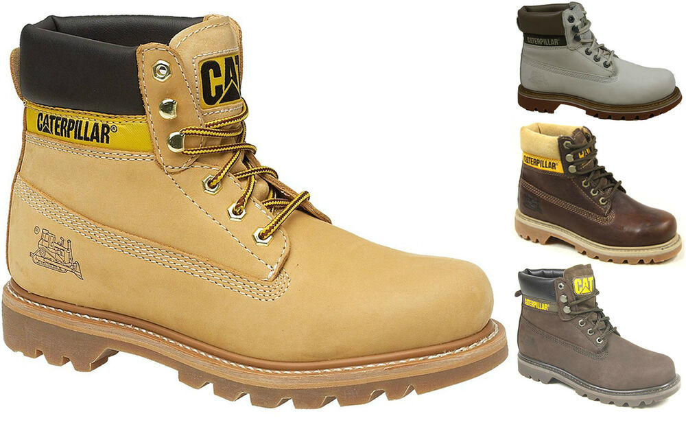 womens caterpillar cat colorado leather classic work ankle