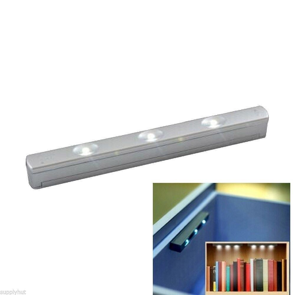 Led Drawer Cabinet Light Lamp Bulb Motion Activated Sensor