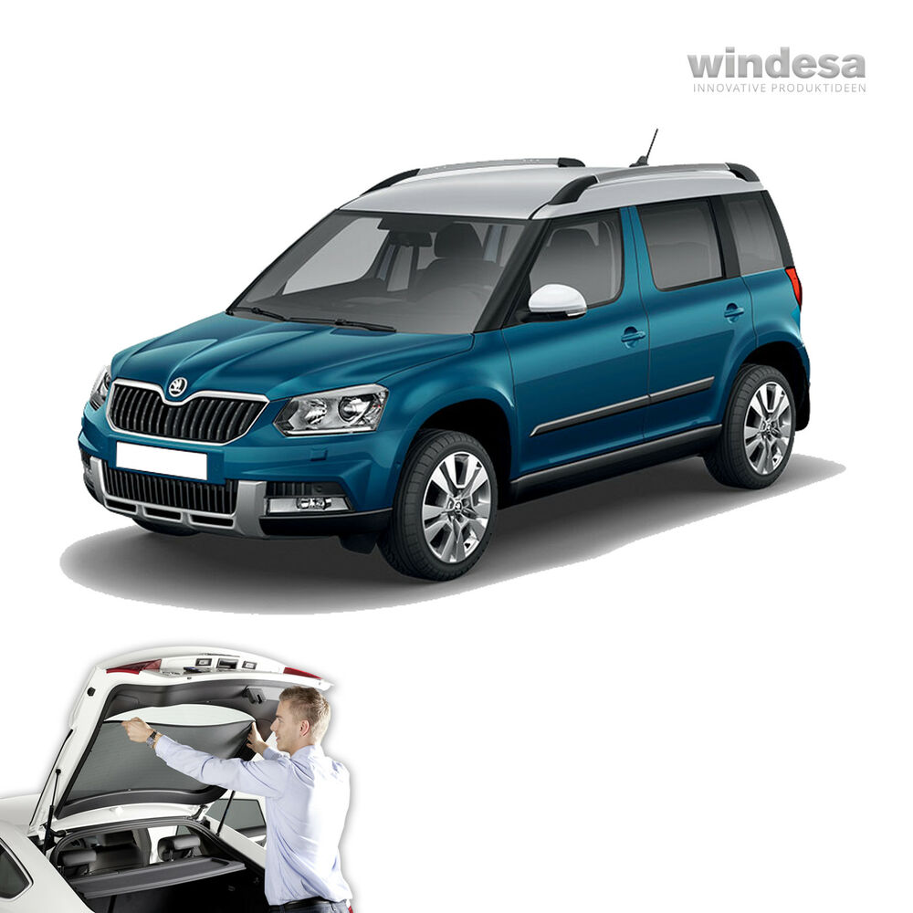 sonniboy auto sonnenschutz sichtschutz skoda yeti ebay. Black Bedroom Furniture Sets. Home Design Ideas
