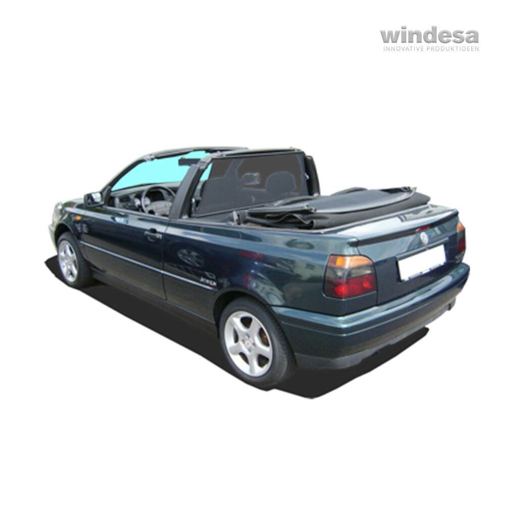 bodi m windschott schwarz vw golf 3 4 cabrio ebay. Black Bedroom Furniture Sets. Home Design Ideas