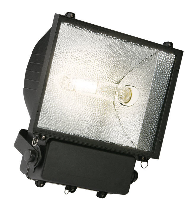 Saxby PRS250 Deluge IP65 250W Black Metal Halide Outdoor