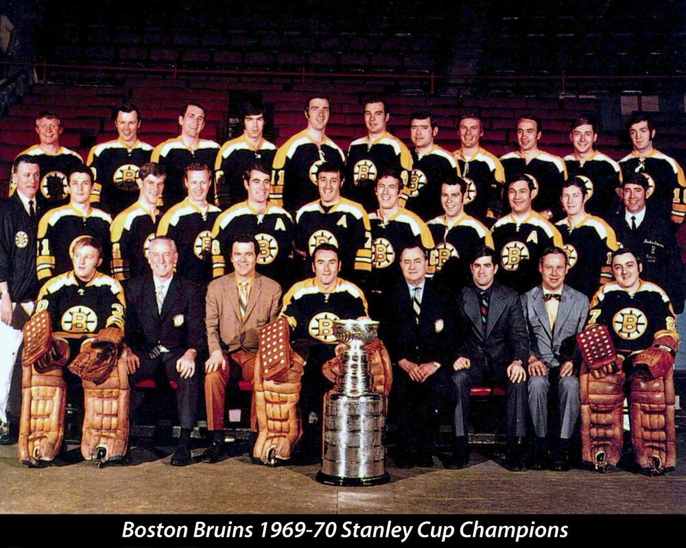 BOSTON BRUINS 1969-70 STANLEY CUP CHAMPIONS NHL HOCKEY ... Bruins Roster Nhl