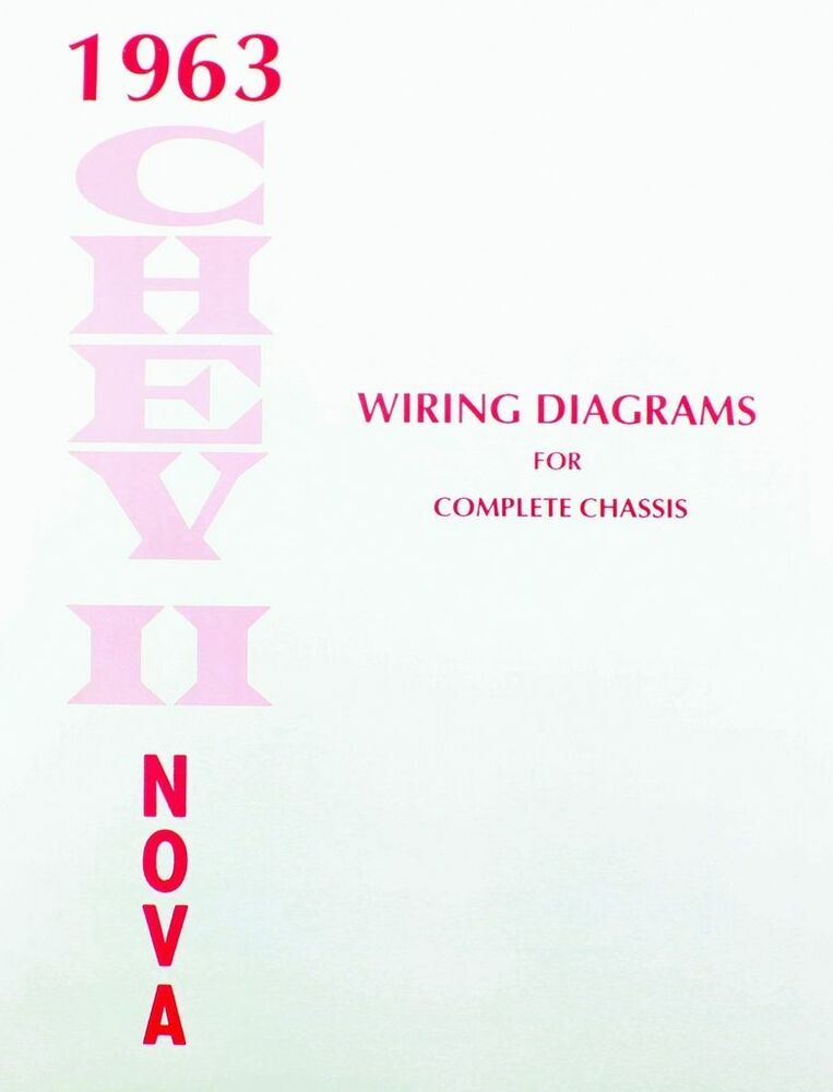 chevy nova electrical wiring diagram manual