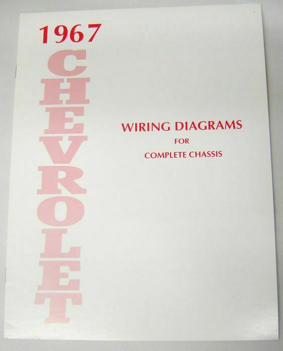 67 1967    Chevy    Impala Electrical    Wiring       Diagram    Manual   eBay