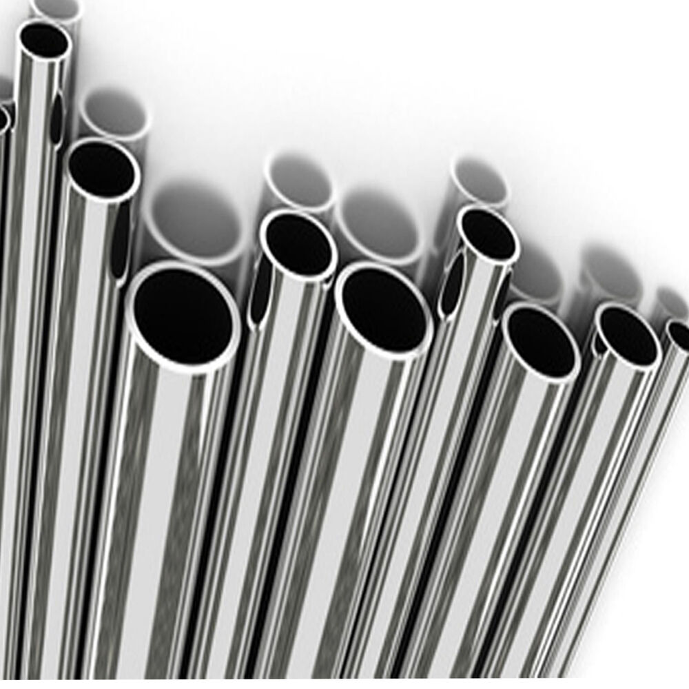 Stainless Steel Pipes : Stainless steel tube mirror polished size options quot