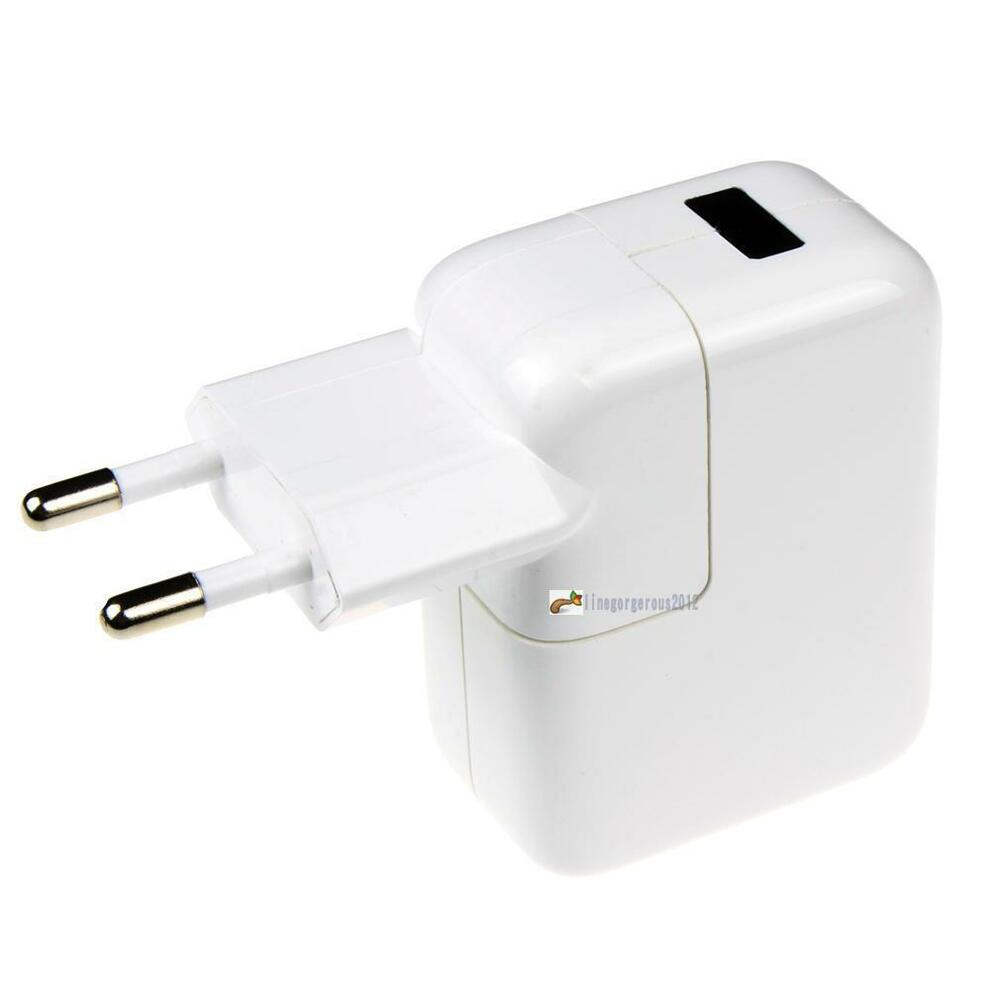 Iphone Wall Charger: EU Dual USB Port Wall Charger Power Adapter IPhone IPod