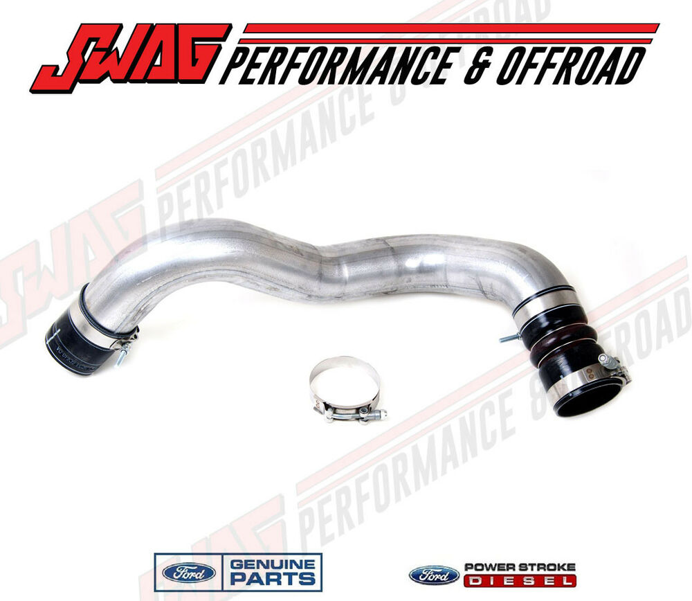 2007 Ford F250 6.0L Powerstroke Diesel OEM Ford CAC Intake Elbow Tube ...