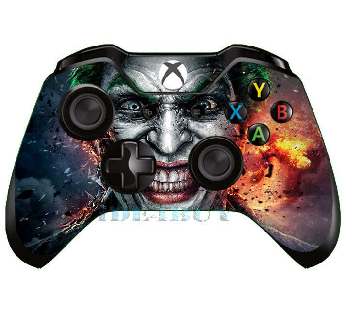 New Xbox One Game Controller : Popular horrible joker skin for xbox one box