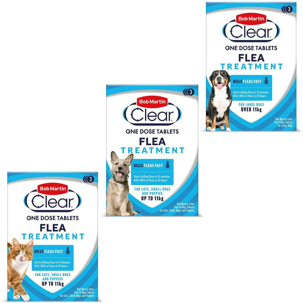 bob martin clear flea tablets for cats dogs puppy and. Black Bedroom Furniture Sets. Home Design Ideas