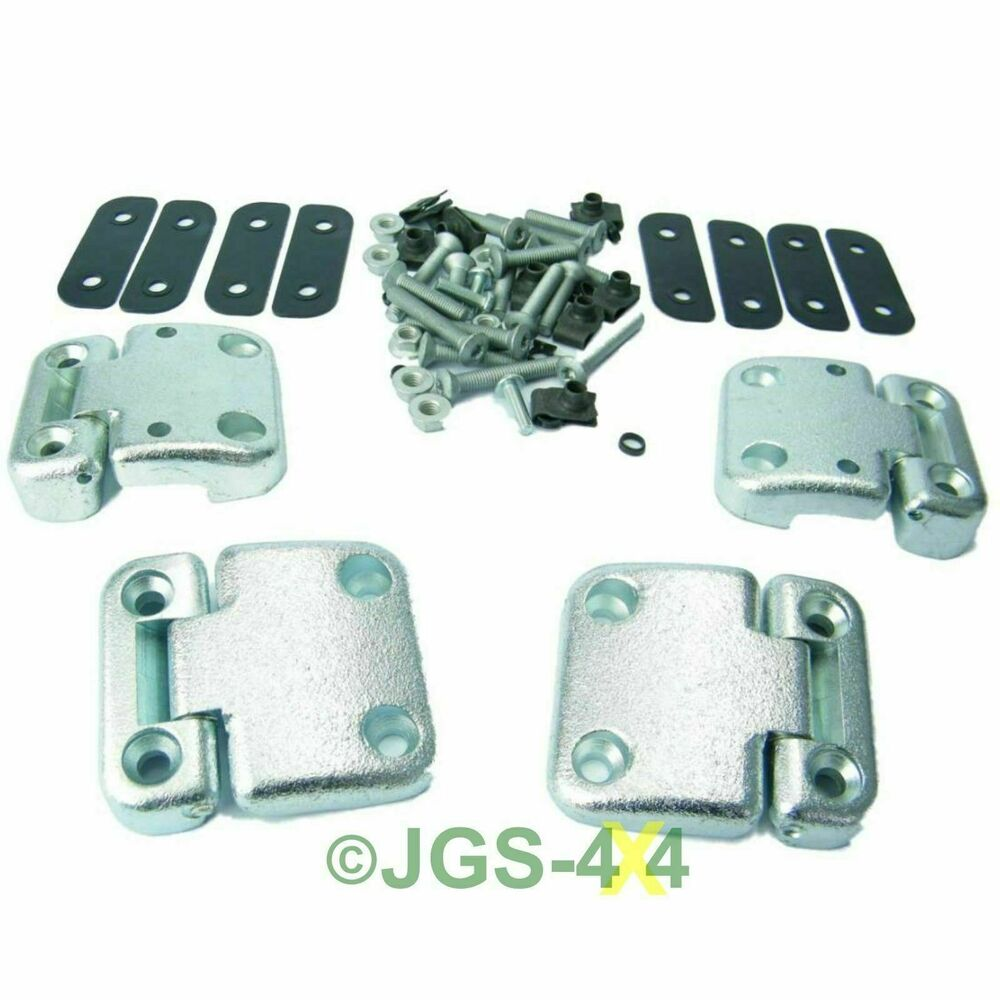 Land Rover Defender Front Door Hinge Heavy Duty Kit For 2