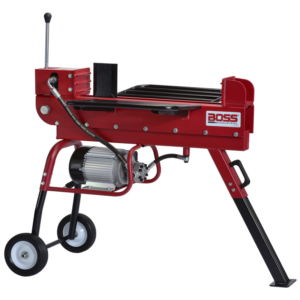 Boss Industrial 10 Ton Horizontal Dual Action Electric Log