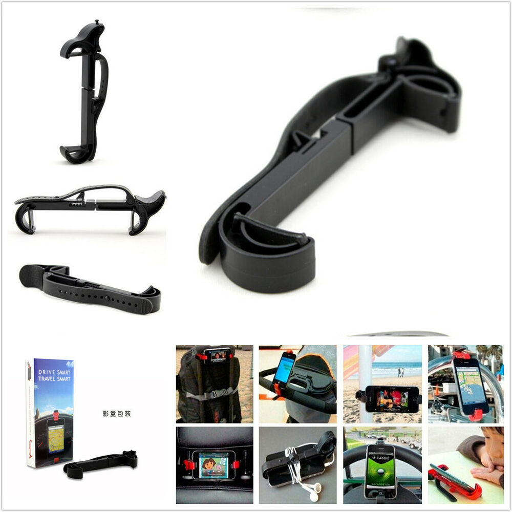 Mobile cell phone gps pda car steering wheel mount holder for Mercedes benz cell phone cradle