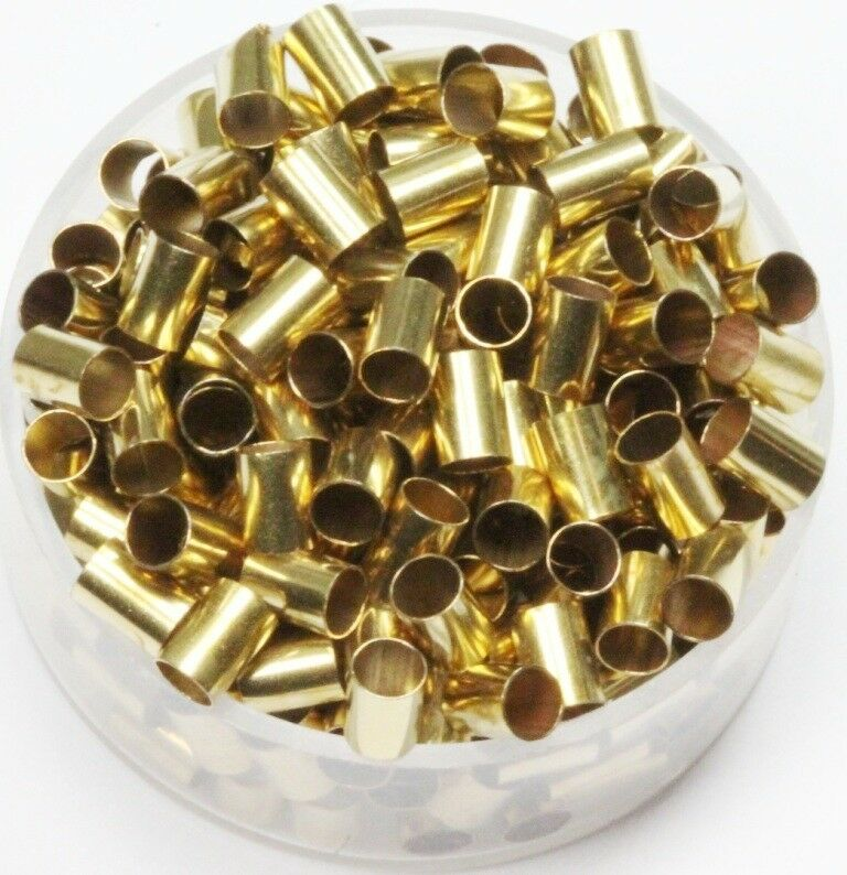 Solid brass tube spacer beads hole size mm length