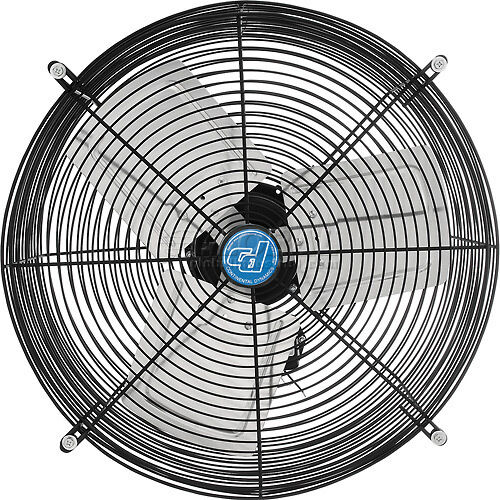 Direct Vent Fan : Guard mounted direct drive exhaust fan quot louver sold