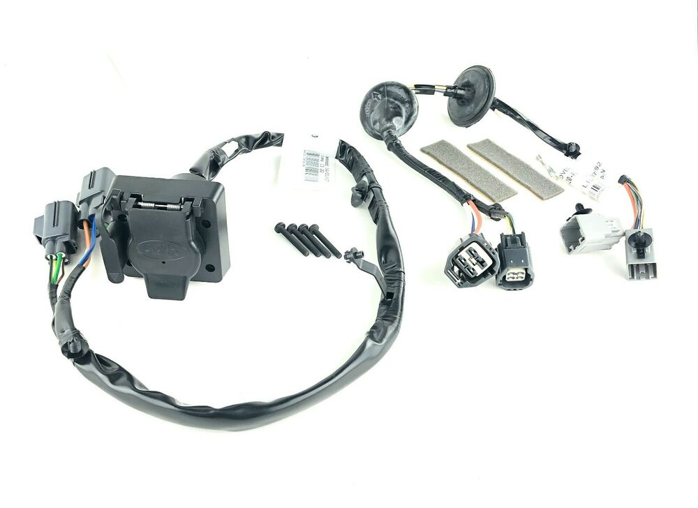10 13 land rover lr4 towing tow trailer electrics wiring harness kit genuine new ebay