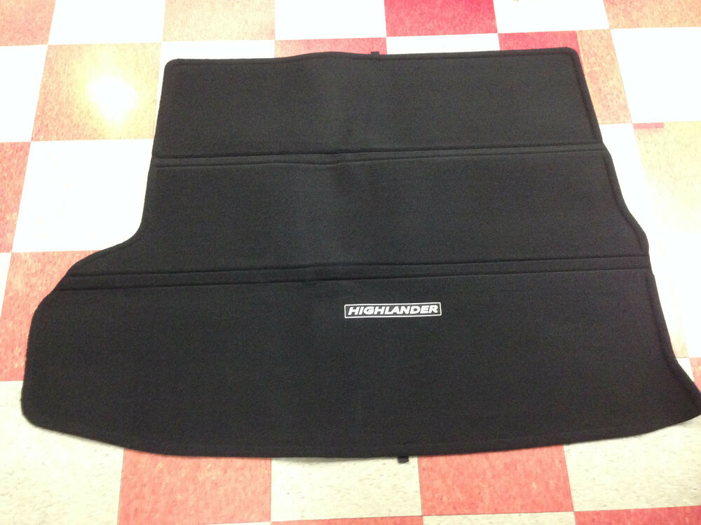 2014 2017 Highlander Carpet Cargo Mat Black Pt206 48140 20