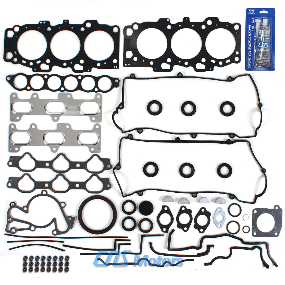 GENUINE Full Gasket Set & Silicone Fits 01-10 Hyundai Kia