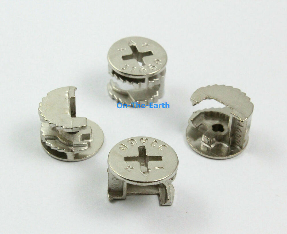 Pieces mm diameter furniture cam lock screw fittings