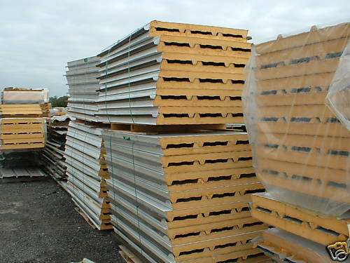 Insulated panels roofing sheets cladding pir