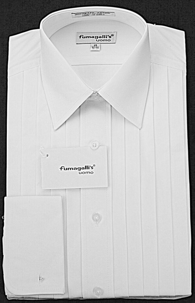 100 high quality cotton lay down collar tuxedo shirts ebay 100 cotton tuxedo shirt