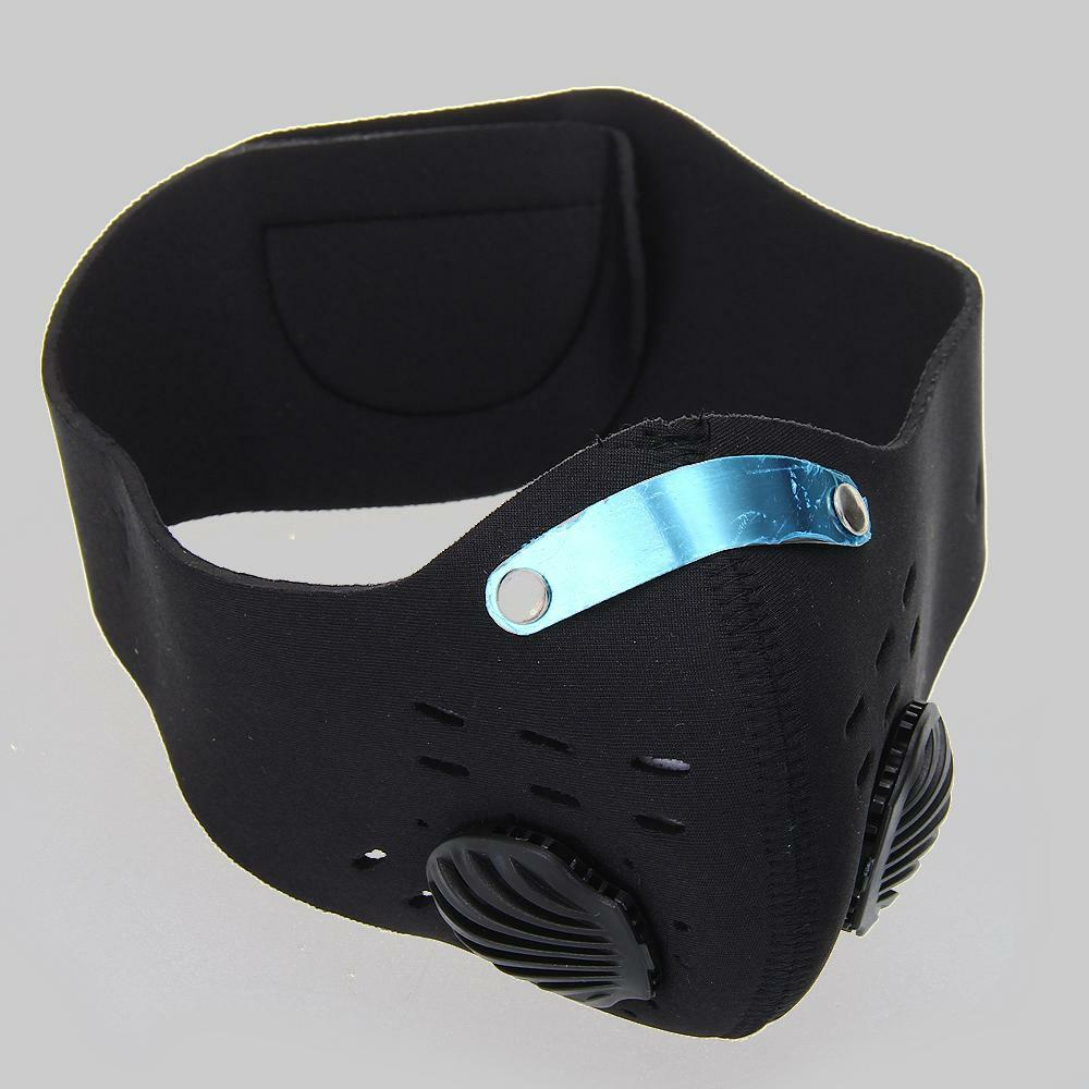 Bicycle Bike Cycling MTB Anti-dust Half Face Mask Filter