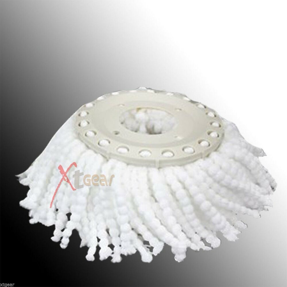 360 176 Spin Replacement Mop Micro Head Refill Hurricane For