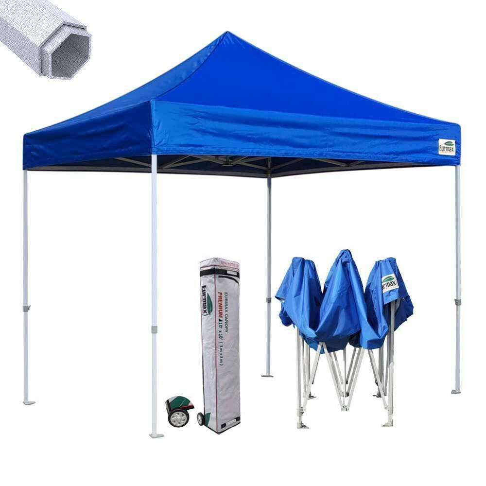 Eurmax Ez Pop Up Canopy Premium 10x10 Industrial Gazebo