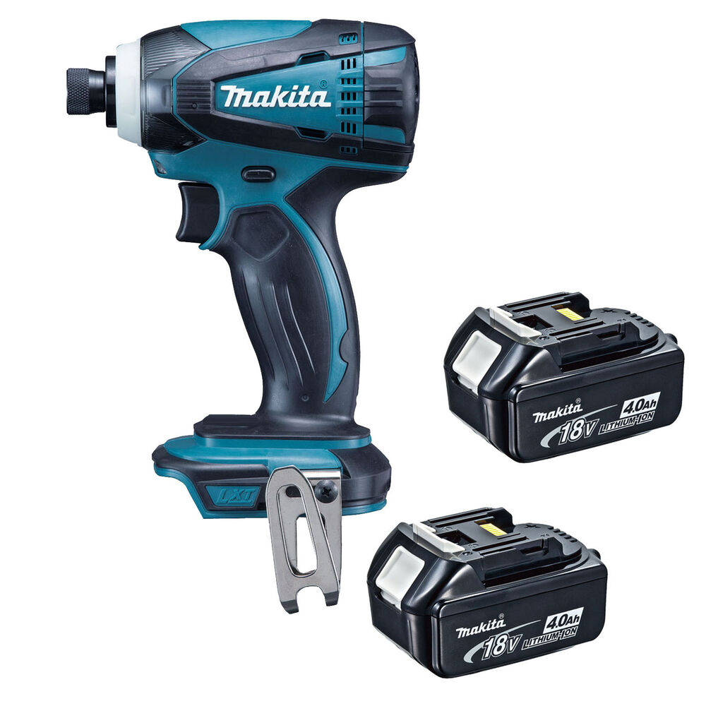 makita 18v lxt dtd146 dtd146z impact driver and 2 x bl1840 batteries dtd152z ebay. Black Bedroom Furniture Sets. Home Design Ideas