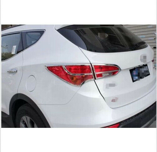 2011 Hyundai Santa Fe Exterior: Chrome Rear Tail Light Lamp Cover Trim For Hyundai Santa
