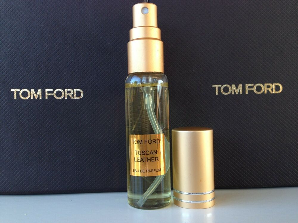 tom ford private blend tuscan leather 10 ml spray ebay. Black Bedroom Furniture Sets. Home Design Ideas
