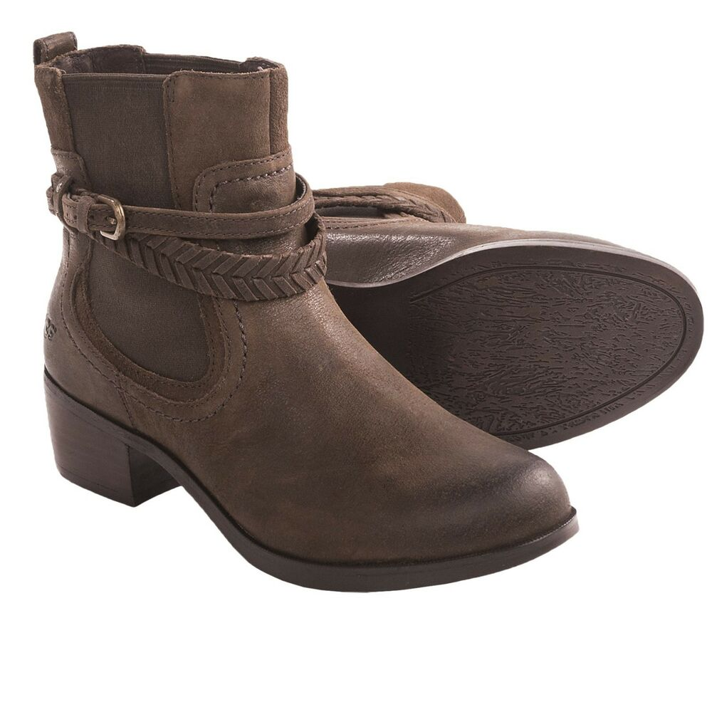 new 200 ugg australia women s krewe ankle boots leather