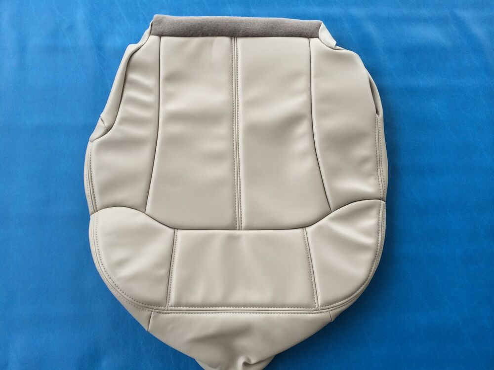 2000 2002tahoe Suburban Leather Drivers Seat Cover Shale