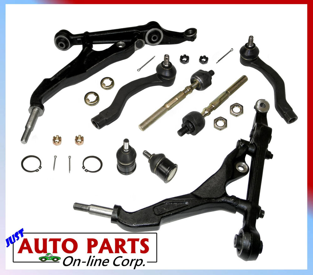 Lower control arms honda civic 92 95 tie rods rh lh ball for Ball honda service