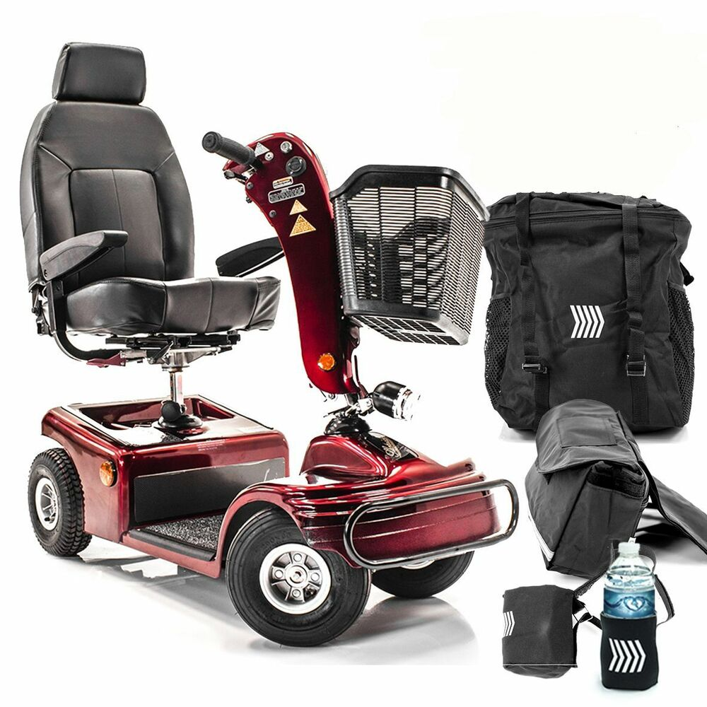 Shoprider sunrunner 4 wheel scooter mobility 888b 4 with for Mobility scooters