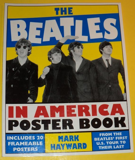 The Beatles In America 2013 NEW Large Frameable Poster