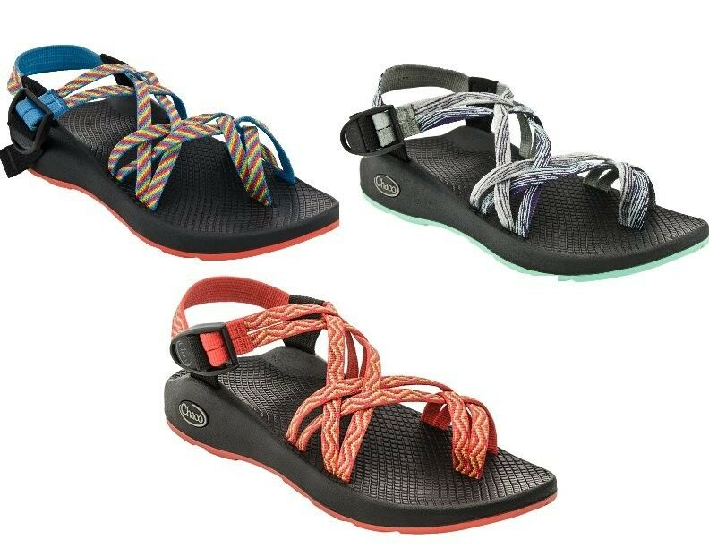 New Chaco Zx2 Yampa Womens Shoes Sandal Rainbow Fiesta