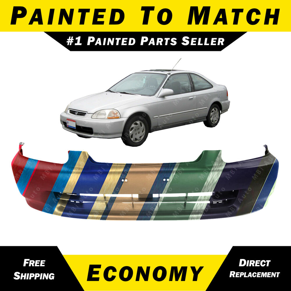 S L on 1998 Honda Civic Front Lip Bumpers
